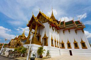 タイ王宮のドゥシット宮殿の写真素材 [FYI01670805]