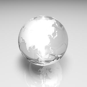 サッカーボールの地球 白のイラスト素材 [FYI01670899]