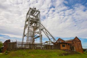 大牟田の三池炭鉱跡地の写真素材 [FYI01671001]