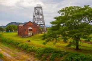 大牟田の三池炭鉱跡地の写真素材 [FYI01671003]