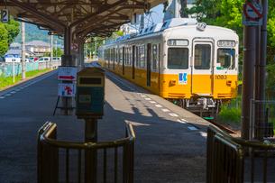 琴平電鉄の琴平駅の写真素材 [FYI01671143]