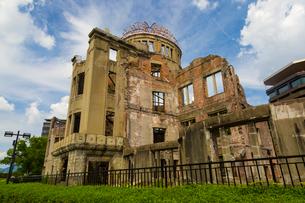広島の原爆ドームの写真素材 [FYI01671230]