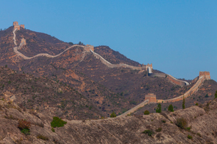 司馬台万里の長城の写真素材 [FYI01671279]
