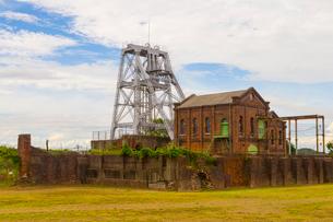 大牟田の三池炭鉱跡地の写真素材 [FYI01671412]