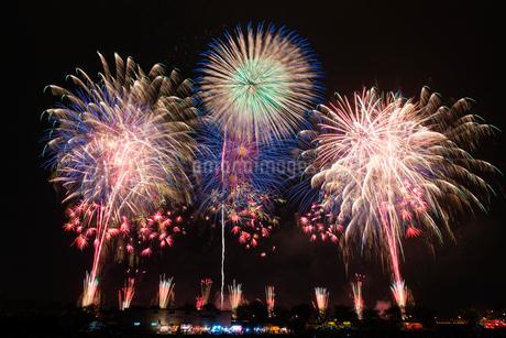 土浦花火づくしの写真素材 [FYI01671449]