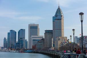 上海の風景の写真素材 [FYI01671642]