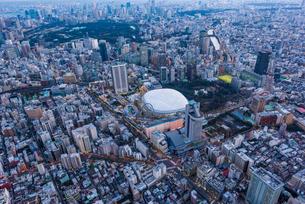 東京ドーム,空撮の写真素材 [FYI01671710]