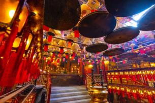 香港の文武廟の写真素材 [FYI01671737]