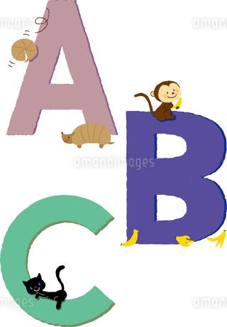 アルファベットABCのイラスト素材 [FYI01671867]