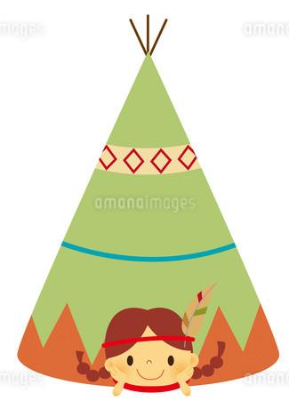 キャンプのイラスト素材 [FYI01671916]