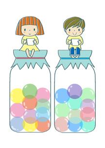 キャンディーKIDSのイラスト素材 [FYI01671964]