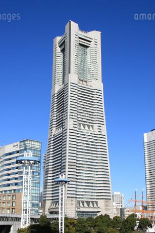 横浜ランドマークタワーの写真素材 [FYI01672061]