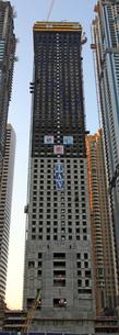 ドバイの超高層ビル(Marina 101)の写真素材 [FYI01672093]