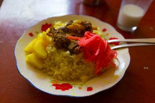 チベットのカレー定食 シャムデの写真素材 [FYI01672169]