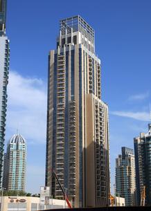 ドバイの超高層ビル(Marina Tower)の写真素材 [FYI01672215]