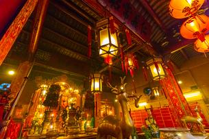 香港の文武廟の写真素材 [FYI01672579]