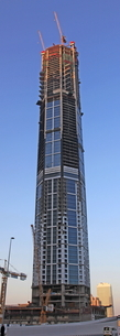 ドバイの超高層ビル(23 Marina)の写真素材 [FYI01672592]