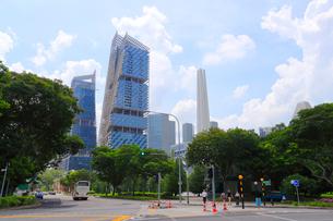 シンガポールの風景の写真素材 [FYI01672633]