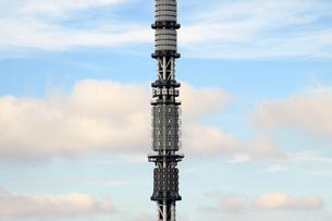 東京スカイツリーの空撮の写真素材 [FYI01672688]