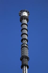 東京スカイツリーの先端の望遠の写真素材 [FYI01672877]