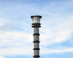 東京スカイツリーの空撮の写真素材 [FYI01672892]