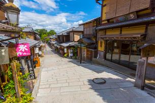 京都の二年坂の写真素材 [FYI01673691]