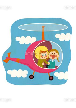ヘリコプターのイラスト素材 [FYI01673987]