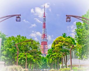 東京タワーの写真素材 [FYI01674068]
