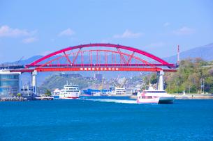 音戸大橋と第2音戸大橋の写真素材 [FYI01674721]