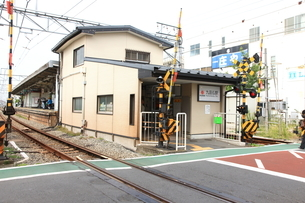 九品仏駅の写真素材 [FYI01674773]