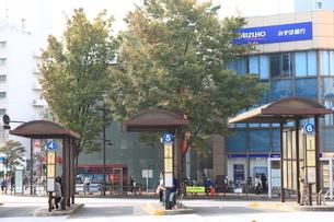バス乗り場の写真素材 [FYI01674820]