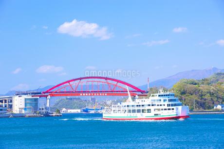 音戸大橋と第2音戸大橋の写真素材 [FYI01674867]
