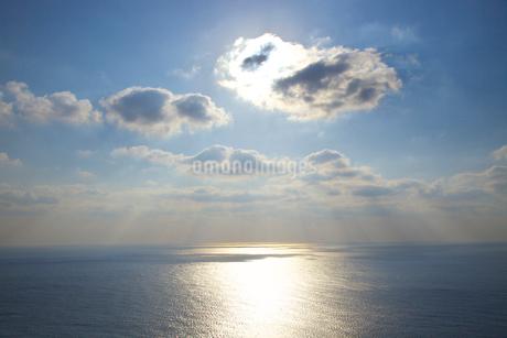 東シナ海と空の写真素材 [FYI01674886]