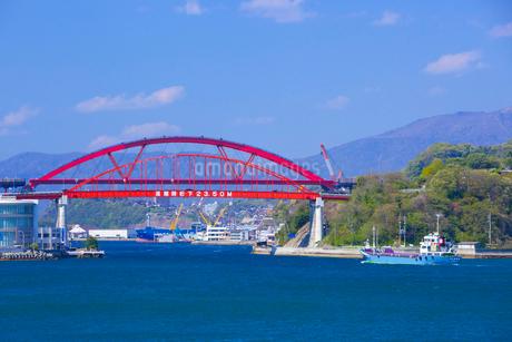 音戸大橋と第2音戸大橋の写真素材 [FYI01674911]