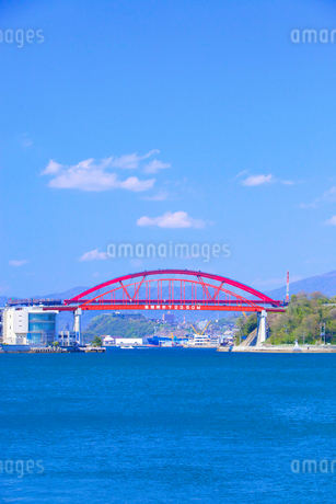 音戸大橋と第2音戸大橋の写真素材 [FYI01674916]