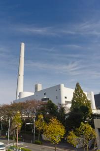光が丘清掃工場の写真素材 [FYI01676201]