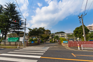 和光市立第四小学校の写真素材 [FYI01678603]