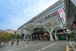 博多駅・博多口,JR博多シティ、博多バスターミナルの写真素材 [FYI01679093]
