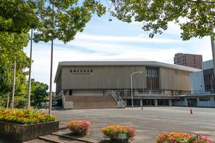福岡市民体育館の写真素材 [FYI01679303]