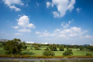 戸田橋ゴルフ練習場の写真素材 [FYI01679522]