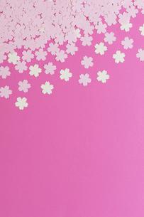 紙のサクラの花の写真素材 [FYI01679580]