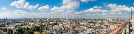 練馬の街並みパノラマ(北方向)の写真素材 [FYI01679601]