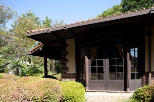 飛鳥山公園 旧渋沢庭園 晩香廬の写真素材 [FYI01679913]