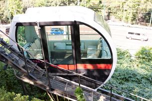 飛鳥山公園モノレールの写真素材 [FYI01679929]