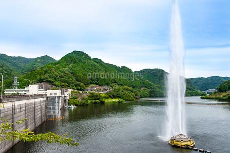 耶馬溪 耶馬溪ダム・耶馬溪湖の写真素材 [FYI01679962]