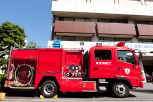 消防自動車 ポンプ車の写真素材 [FYI01680285]
