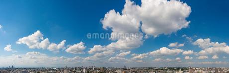 練馬の街並みパノラマ(北方向)の写真素材 [FYI01680333]