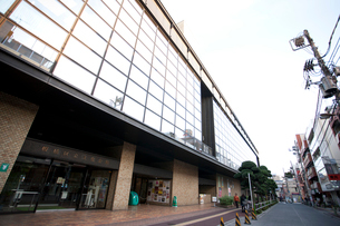板橋区立文化会館の写真素材 [FYI01680383]