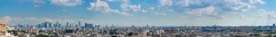 練馬から新宿方面の広域パノラマの写真素材 [FYI01680416]