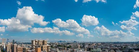 練馬から新宿方面パノラマの写真素材 [FYI01680439]